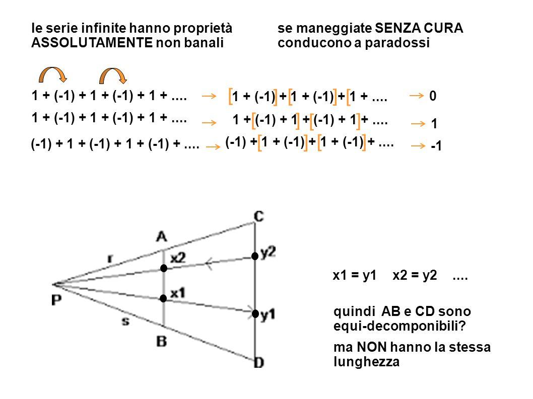 [ ] [ ] [ [ ] [ ] [ ] [ ] le serie infinite hanno proprietà
